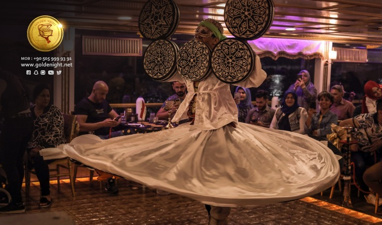 Muslim Halal Golden Night Turkish & Arab Nights ( Silver Table)- No Belly Dance)